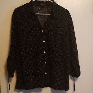 Erika Dotted Blouse XL